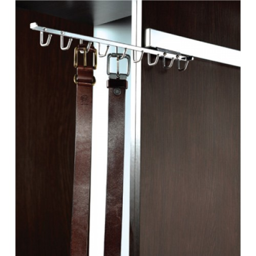 """Deluxe 14"""" Pull Out Belt Rack"""